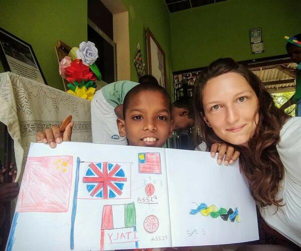 Cristina and the sea turtle conservation & culture experience programs in Sri Lanka