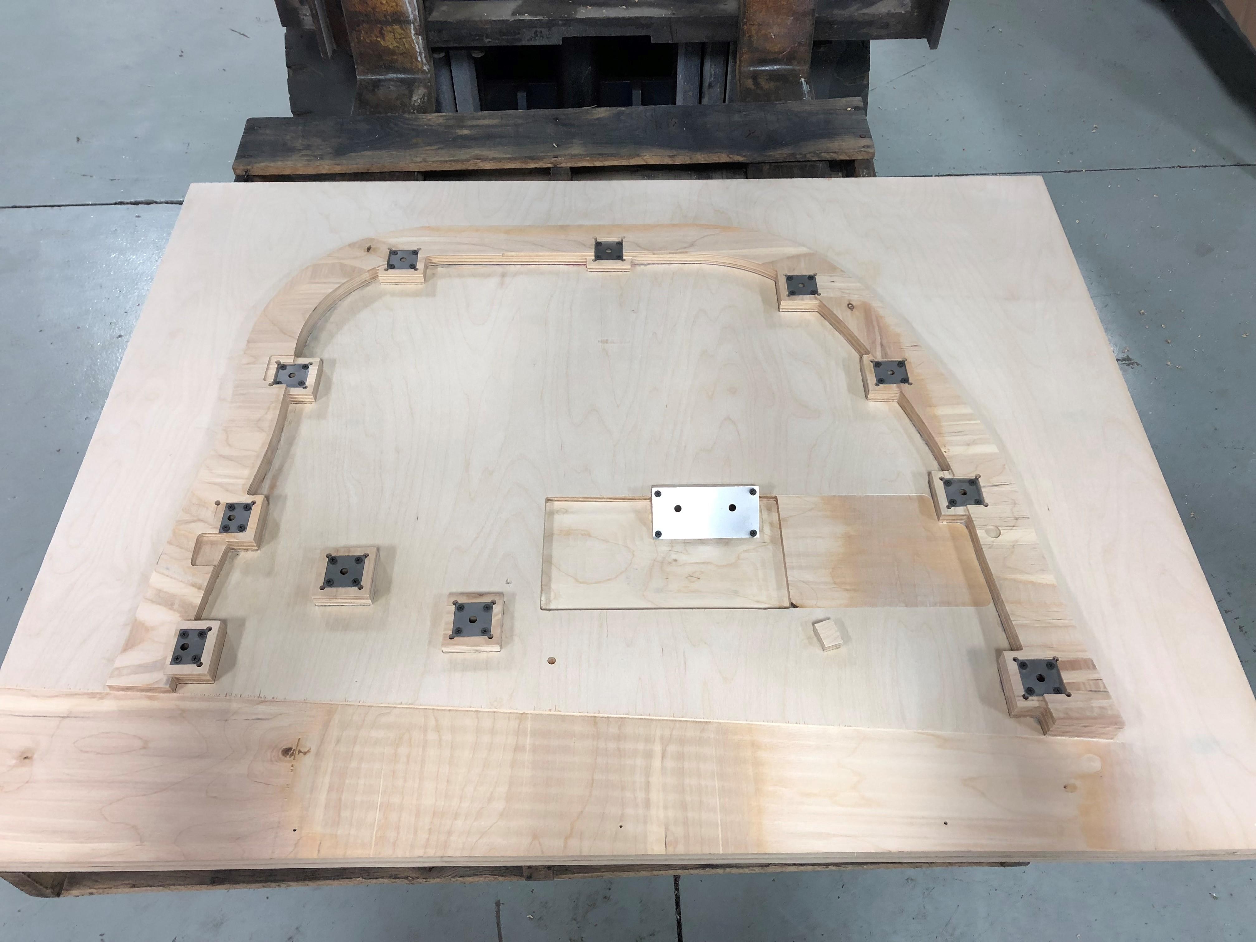 Wood Setting Jig
