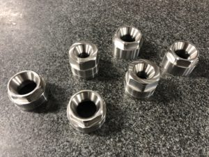 Machined Stainless Steel Nuts