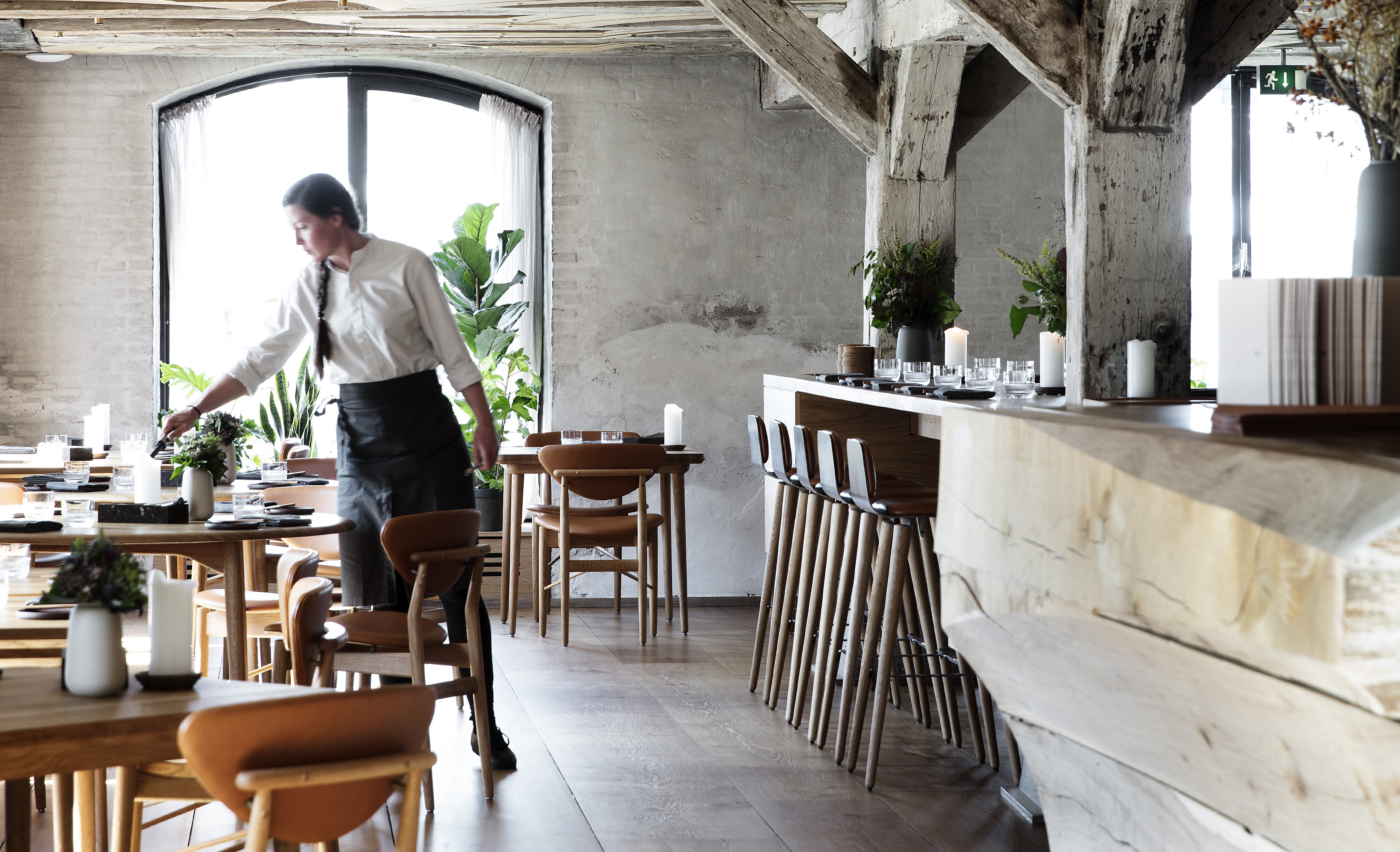 Restaurant Barr Reflects the Beauty of the North Sea Region