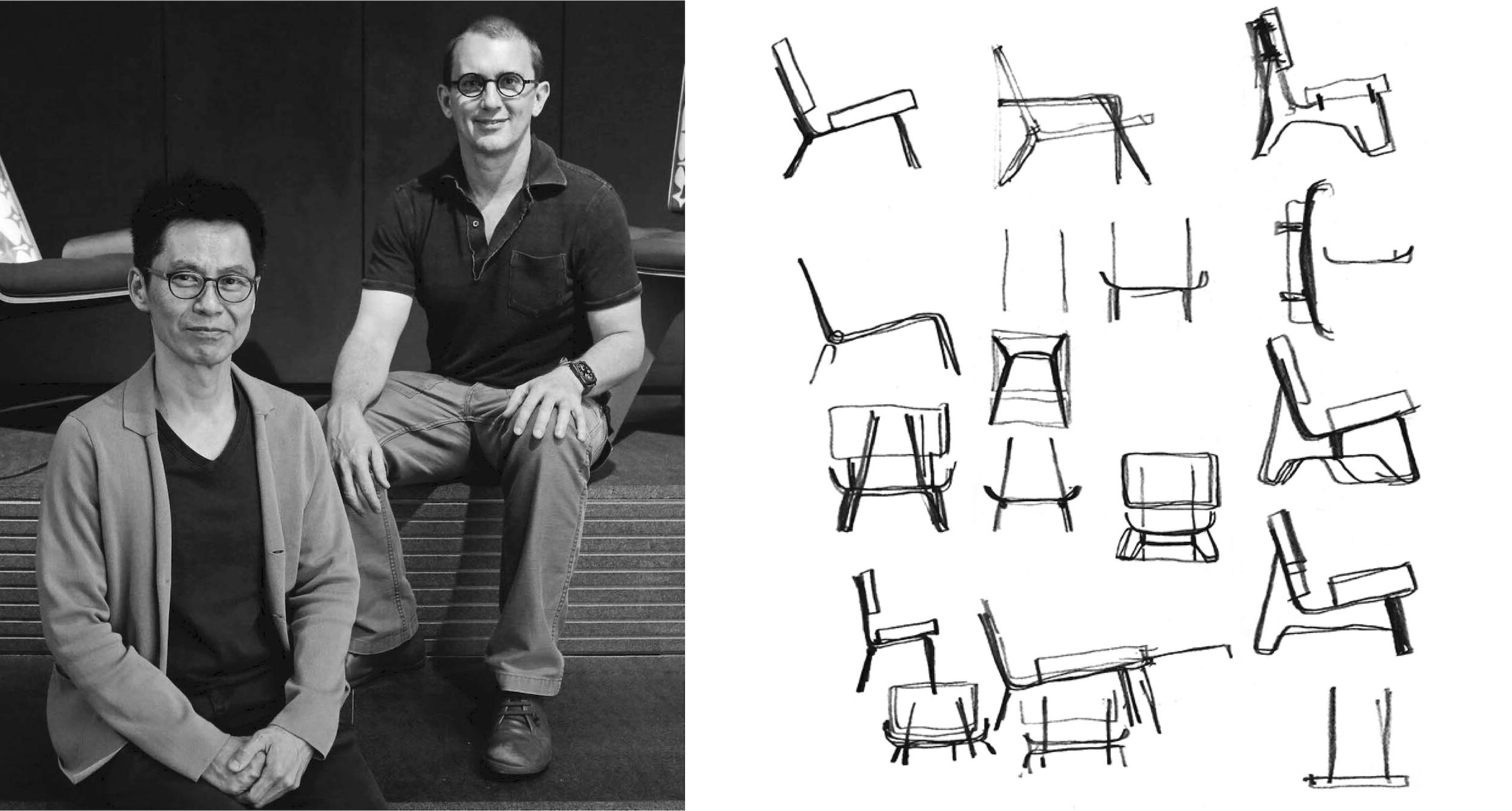 Turtle Chairs and Sampan Bathtubs