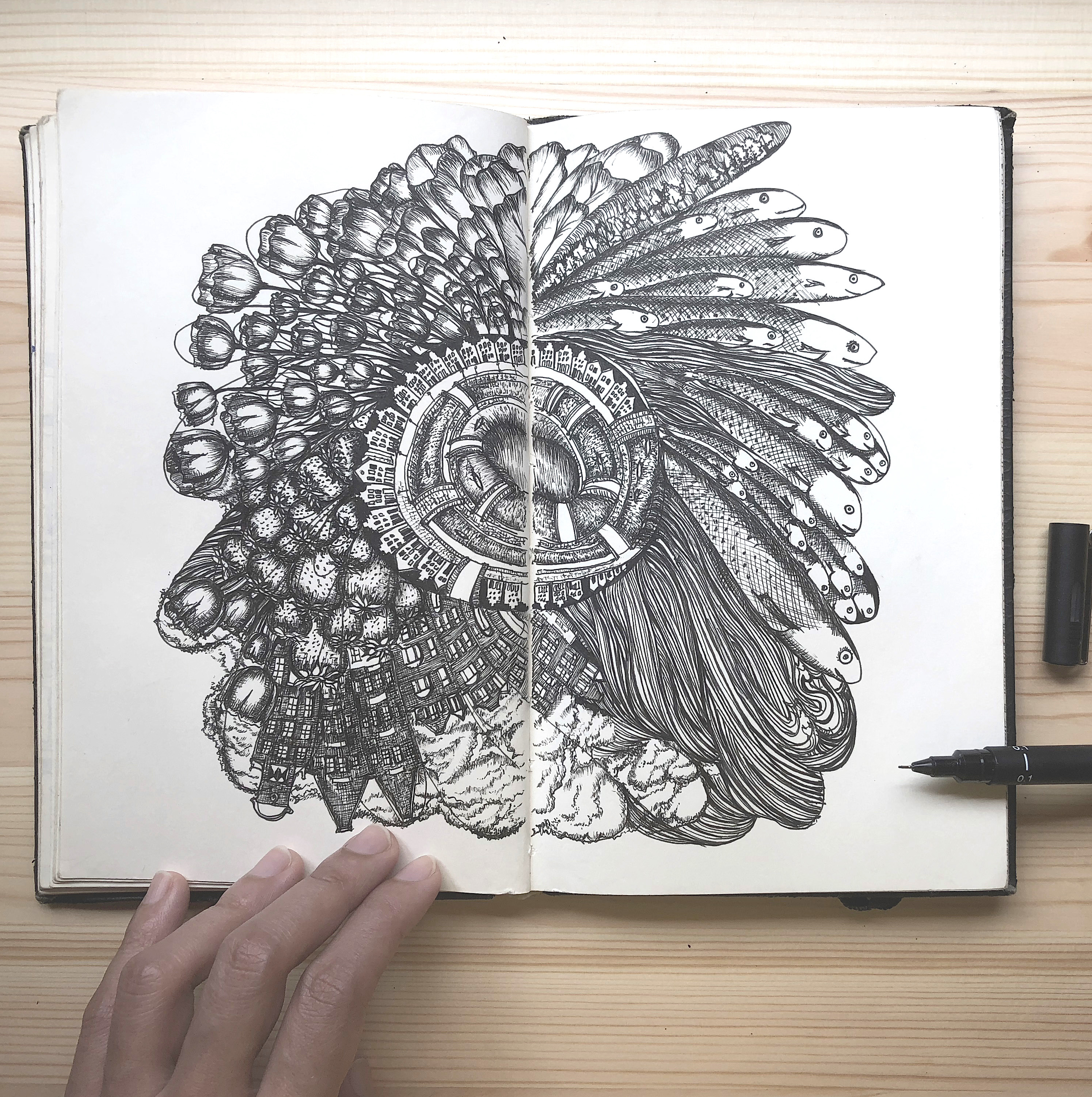 Otherworldly Drawings