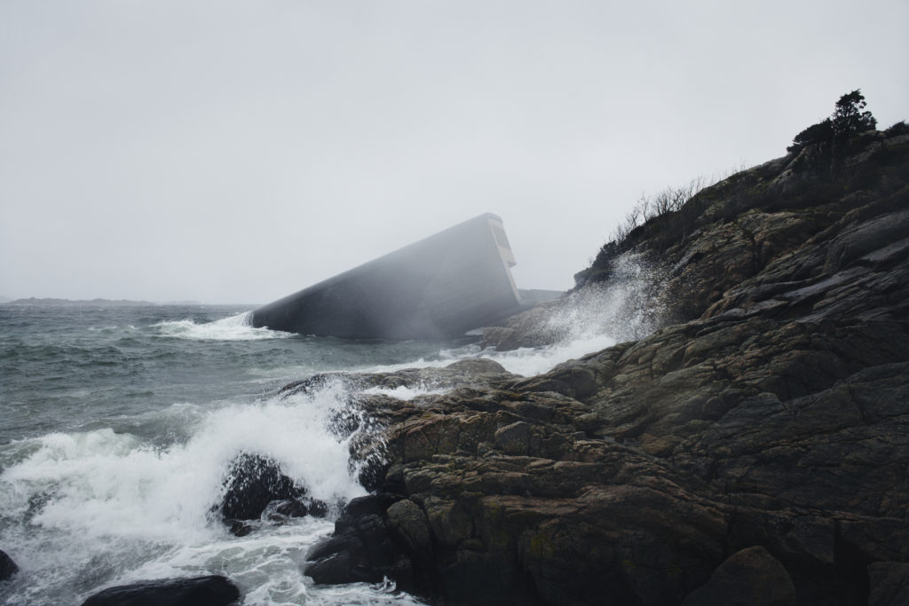 Under restaurant as Lindesnes unleashes its rough seas