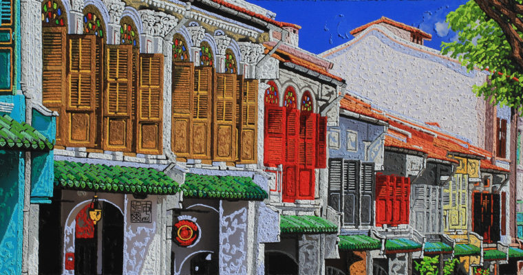 The Singapore Shophouse Artist