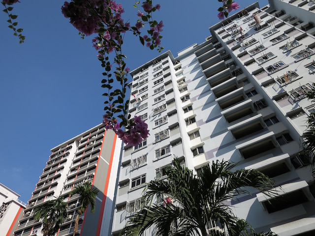 Housing Board flats in Singapore