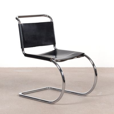Side Chair by Ludwig Mies Van Der Rohe