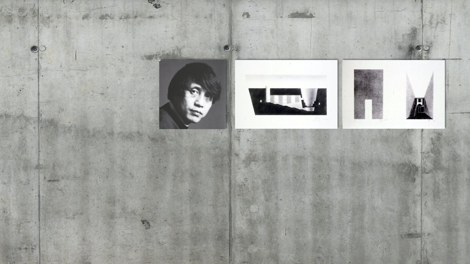 Tadao Ando on Your Wall