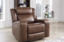 ATTICUS GLIDER RECLINER by New Classic