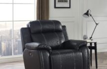FUSION – Power Swivel Glider Recliner by New Classic