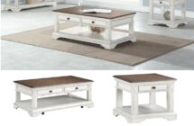 Anastasia Coffee End & Tables by New Classic