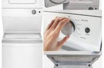 Whirlpool 1.6 cu.ft Electric Stacked Laundry Center