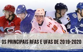 Quem são os principais jogadores em situação de RFAs e UFAs