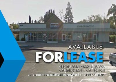 6324 Fair Oaks Blvd. Carmichael CA 95608