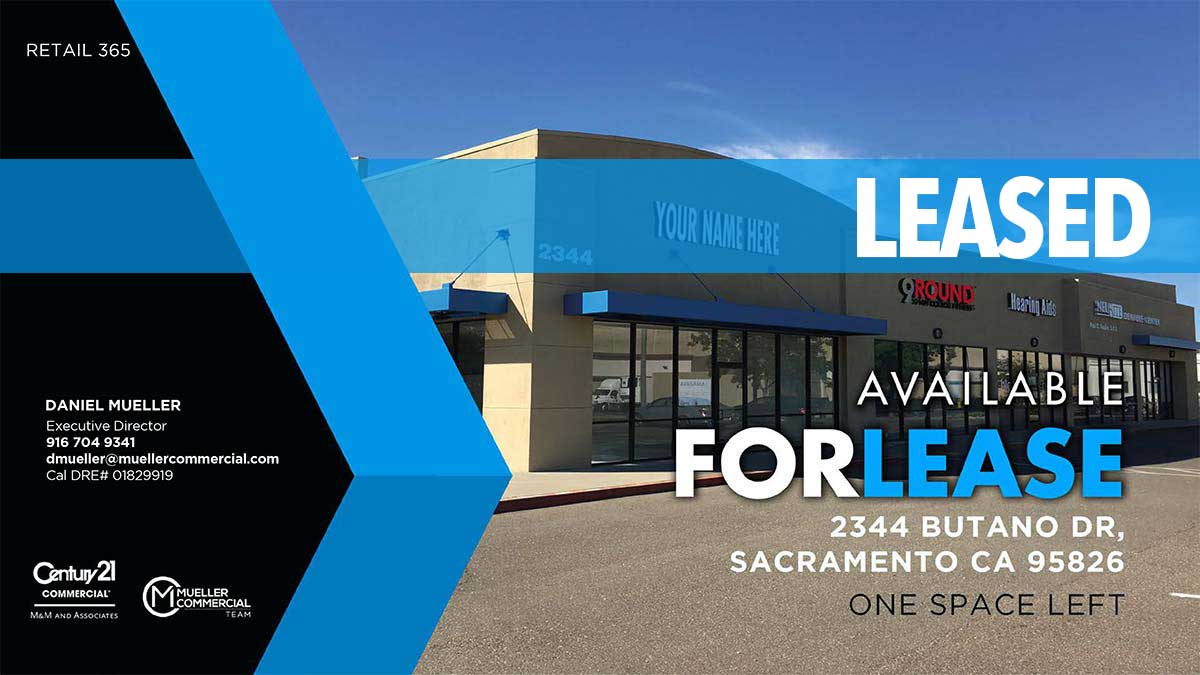 2344 Butano Dr, Sacramento, CA 95825 • Available For Lease