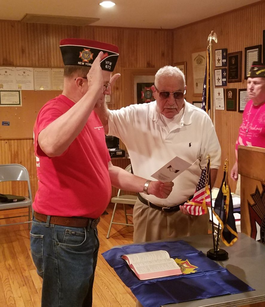 Tony DiNardo Swearing in Sept Mtg 2016