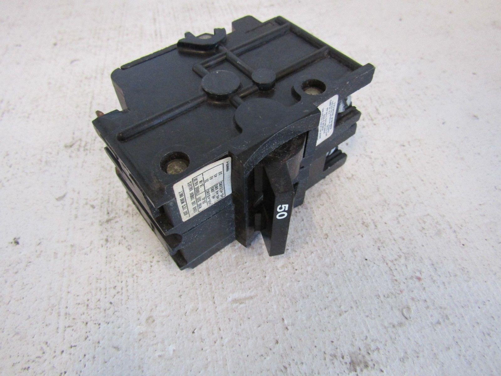 FEDERAL PACIFIC NA 2-POLE 50-AMP BREAKER