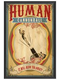 Human cannonball, Spartacus Ryan Zander and the Secrets of the Incredible, A Fitzroy Books title by Molly Elwood