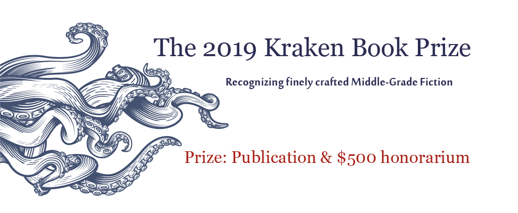 The Kraken Book Prize for Middle-Grade Fiction