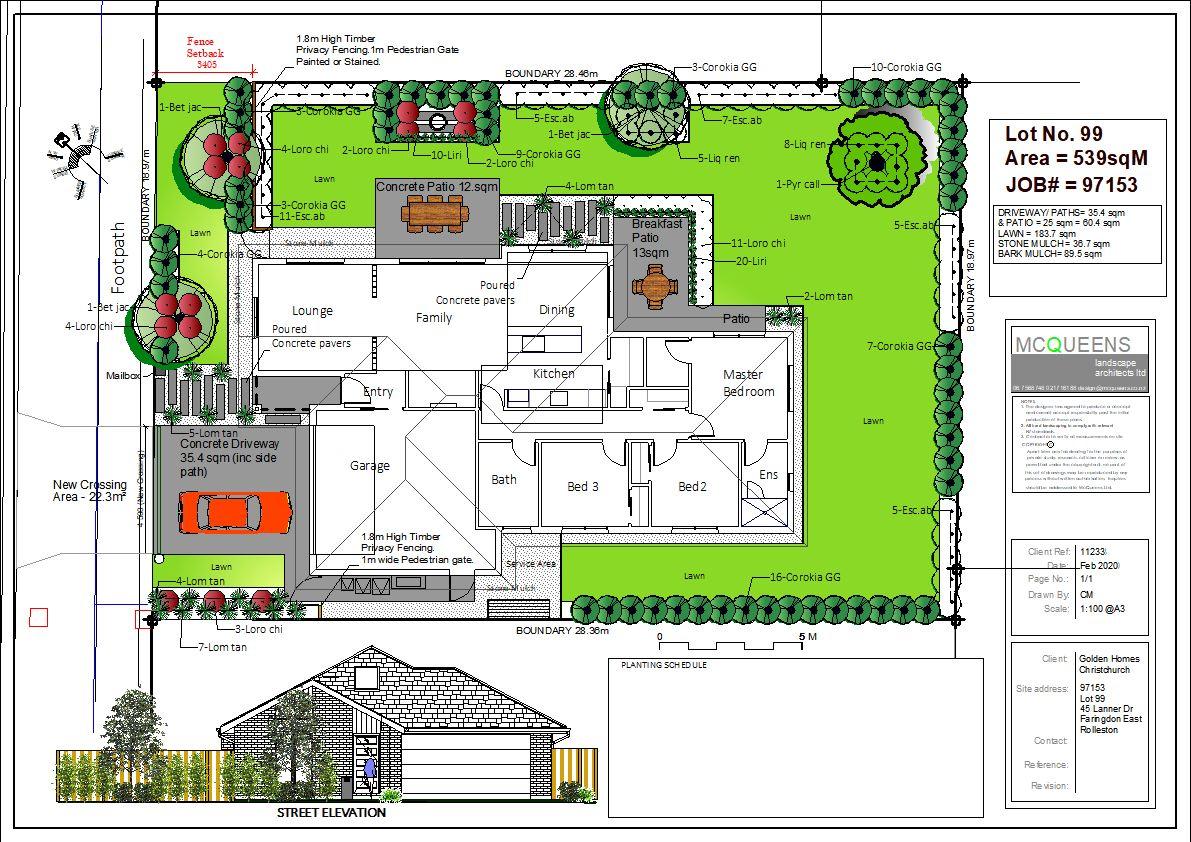 Full Landscape Plans