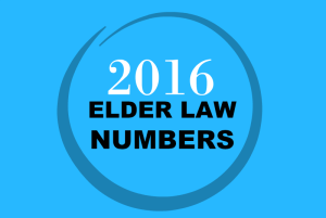 2016 Elder Law Numbers