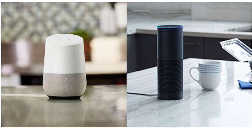 This or that? Google Home vs Amazon Echo
