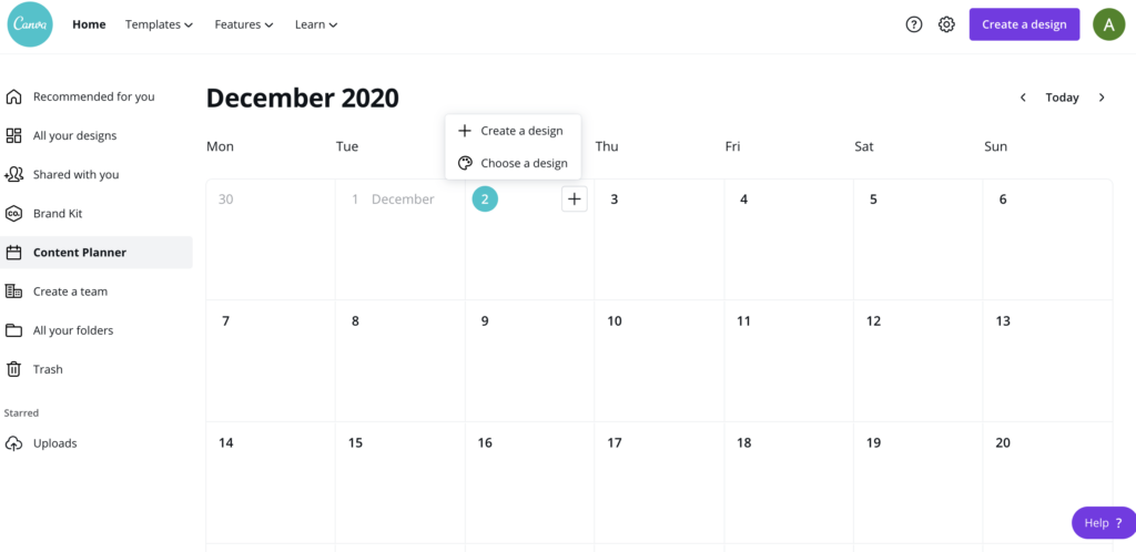 canva-content-calendar-screen-chicdivageek