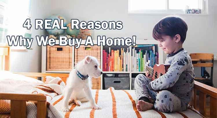 Reasons Buy Home
