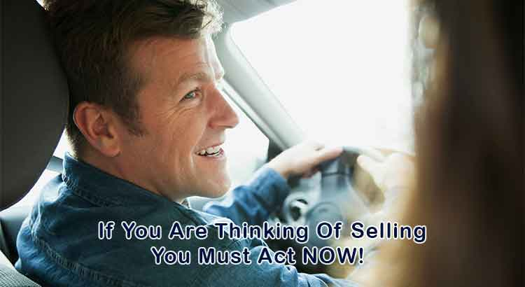 If You Are Thinking Of Selling You Must Act NOW!