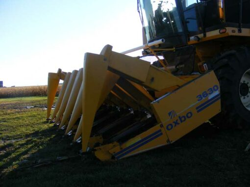 2013 Oxbo 8430 with 3630 Corn Head