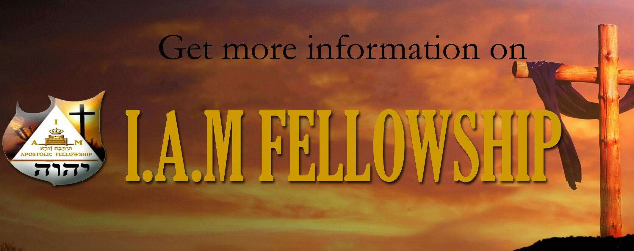 IAMFELLOWSHIP new