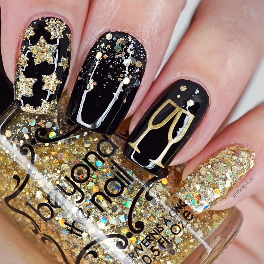 new years nails 2018 new years nails 2018