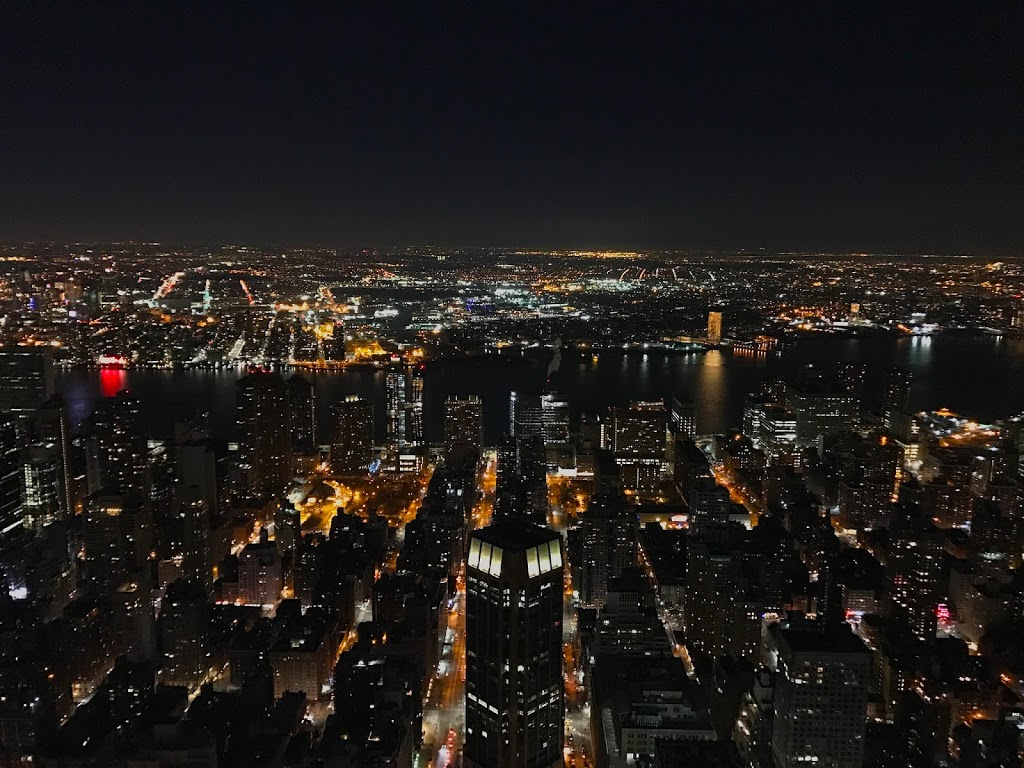 The Empire State Building at Midnight