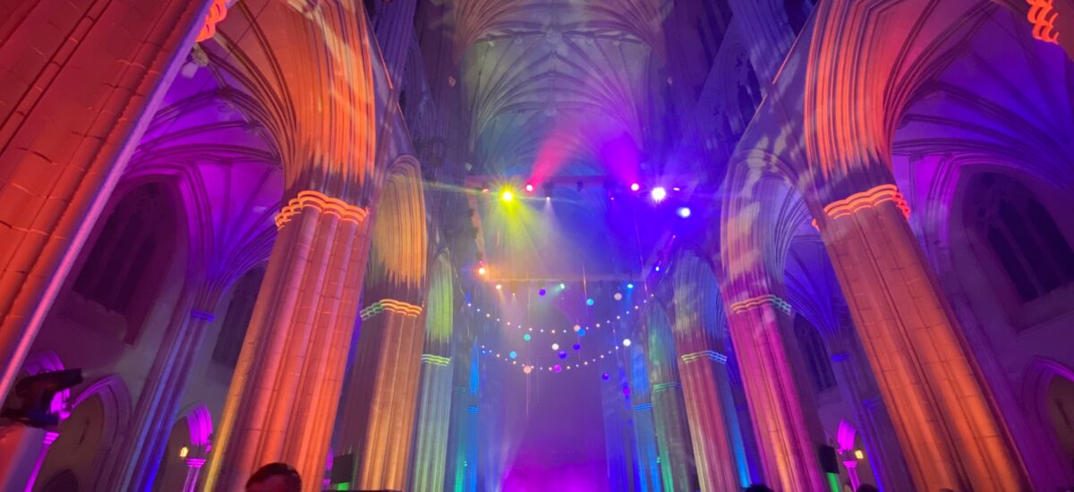 Seeing Deeper: Space, Light & Sound at the National Cathedral