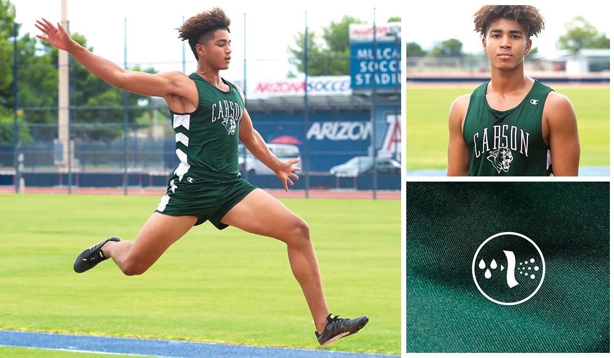 Champion Teamwear Long-Lasting Custom High School Track Uniforms