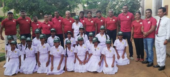 Sri Lanka Olympians at WanaRopa2019