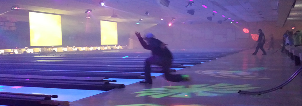 cosmic bowling with laser lights vermont
