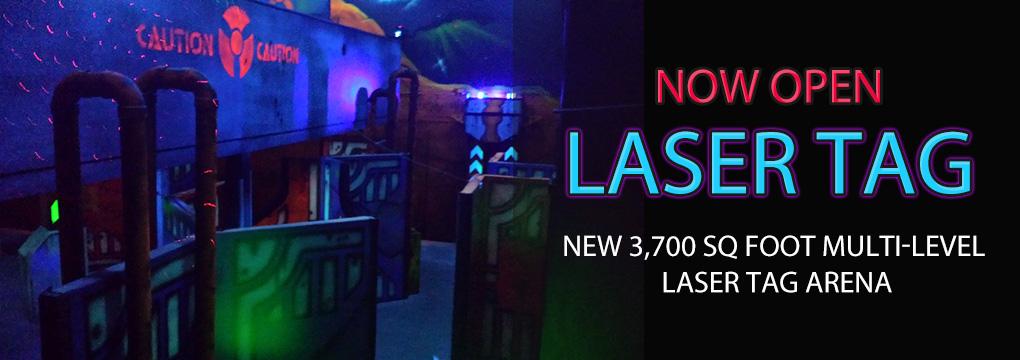 3700 sq ft Laser Tag Arena barre vt montpelier