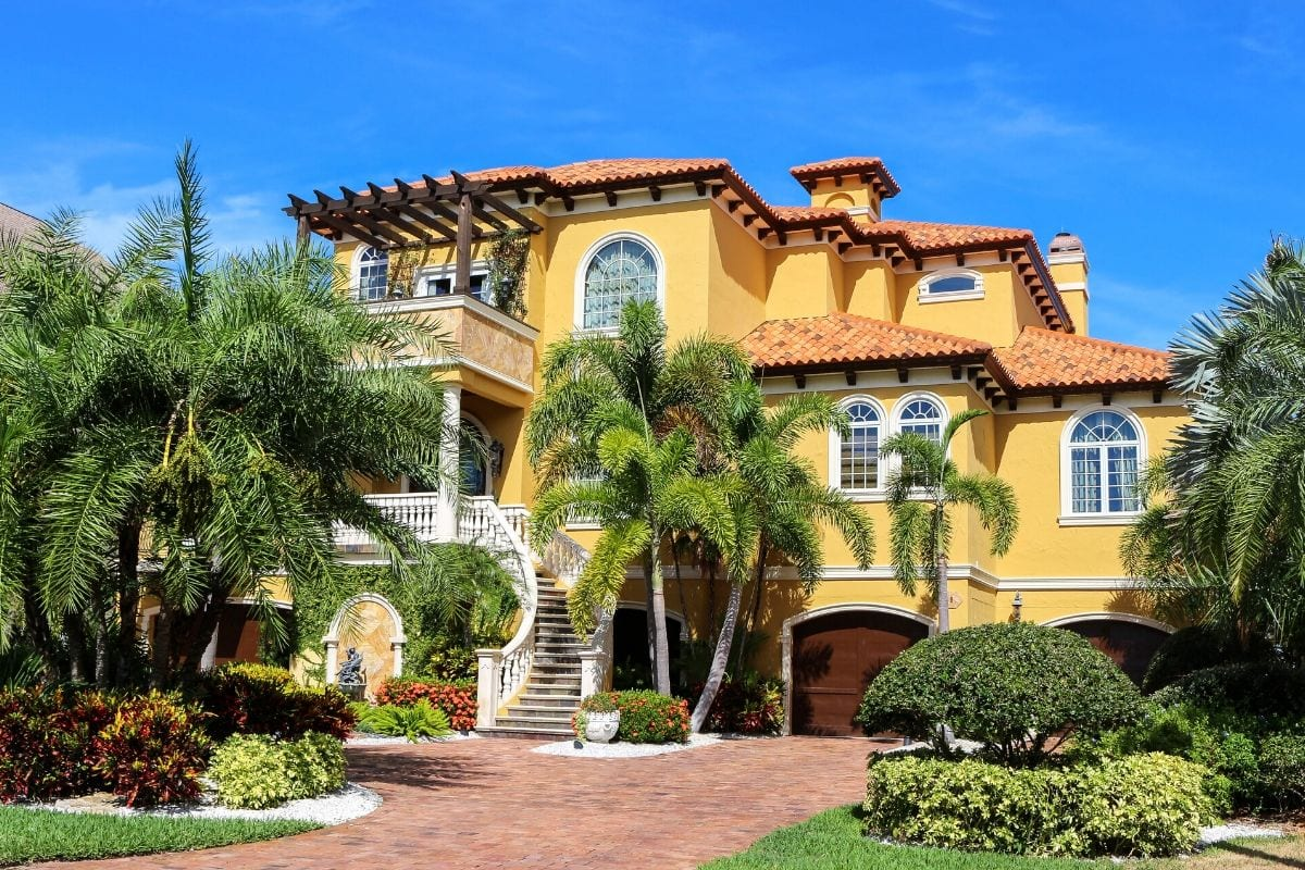 An example of a typical home in Florida.