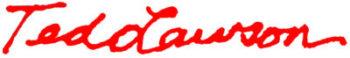 Ted Lawson Artist Logo