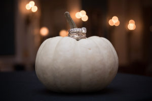 Fall savings pumpkin ring