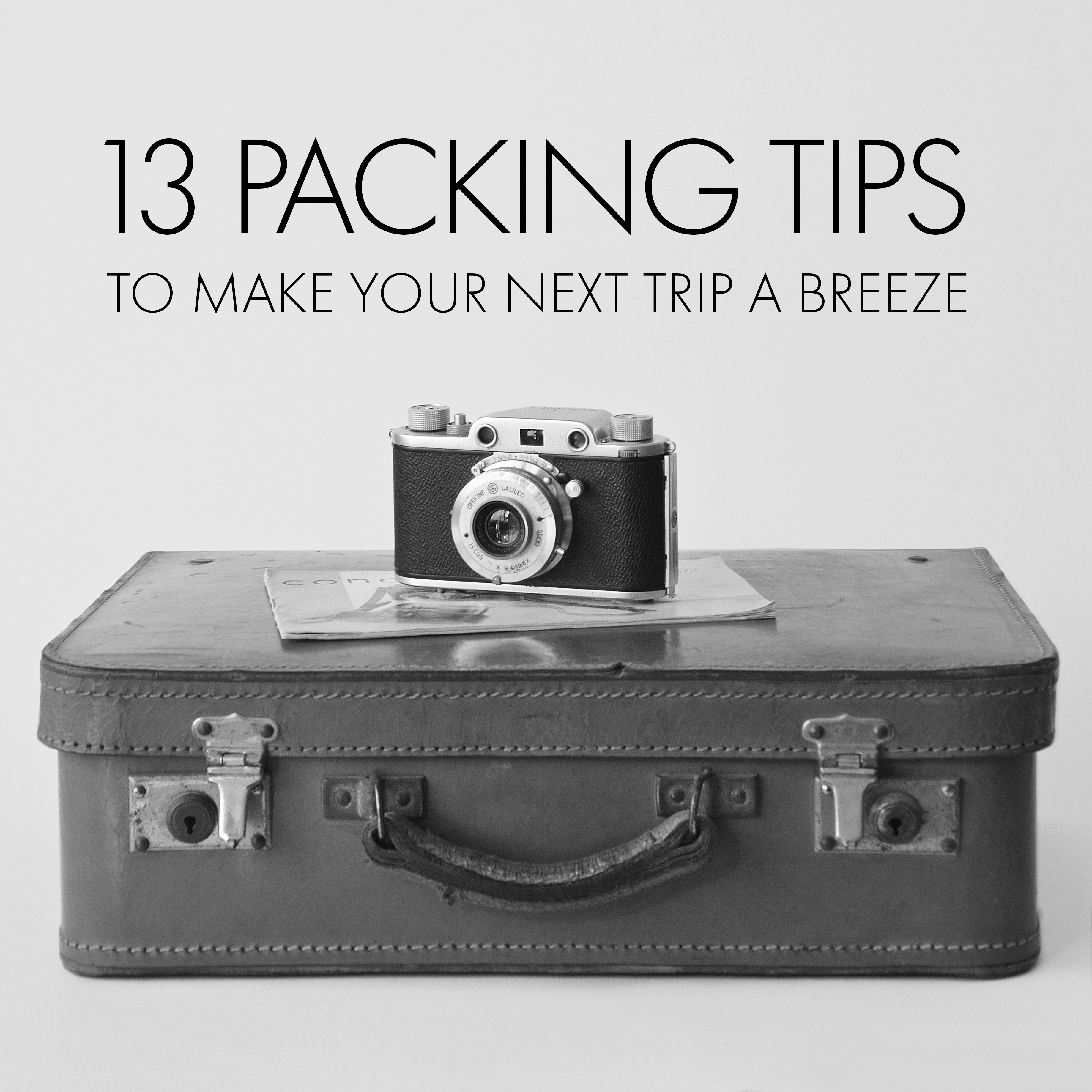 13 packing tips