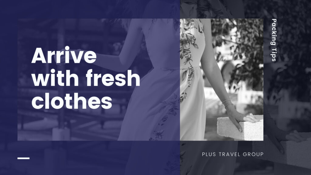 fresh clothes packing tip