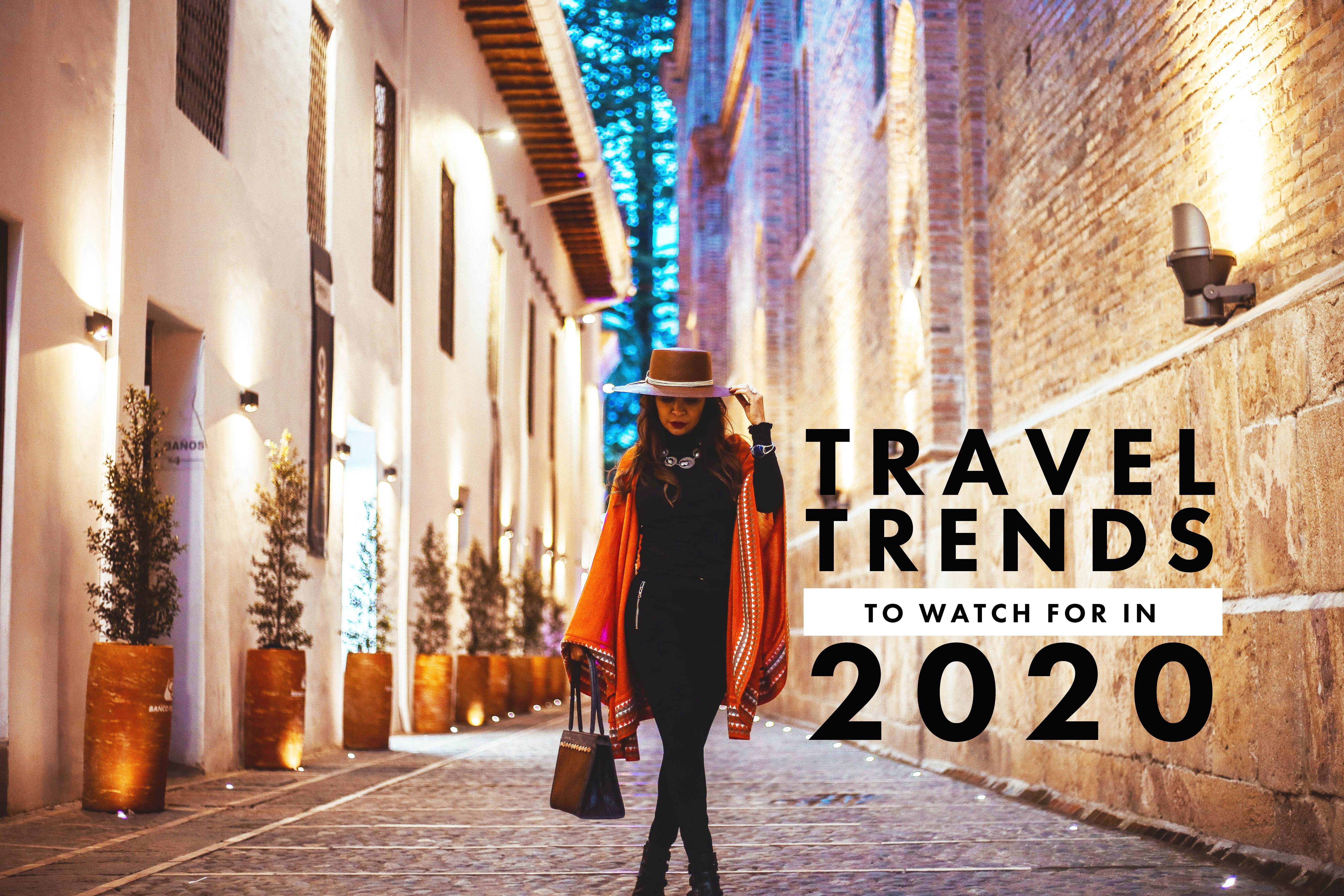 2020 travel trends