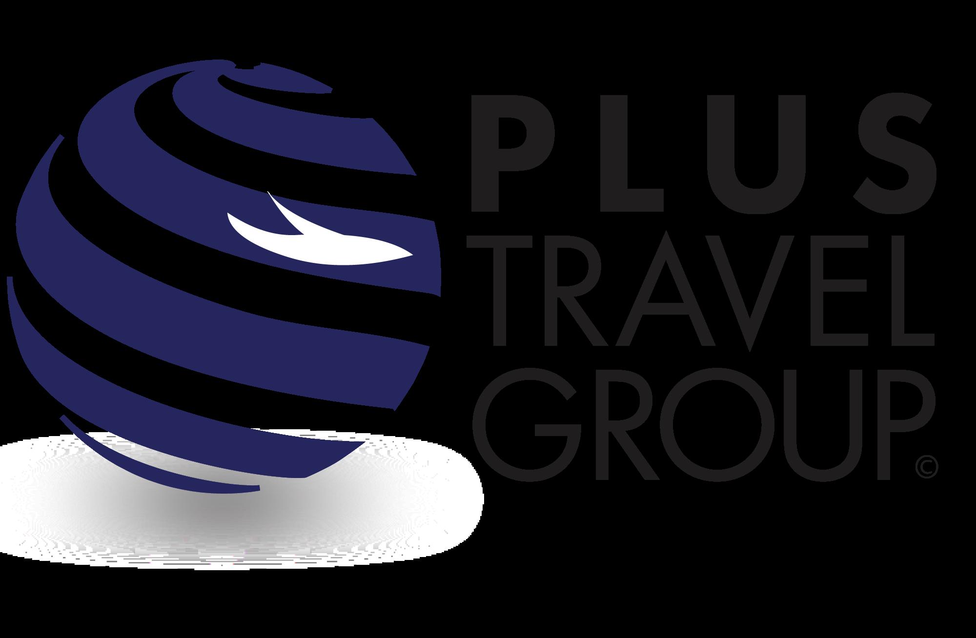 plus travel group logo