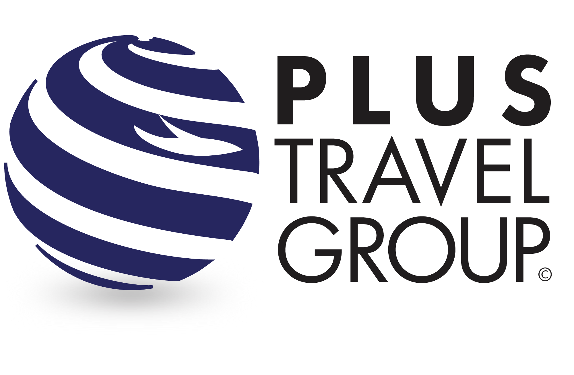 plus travel group logo
