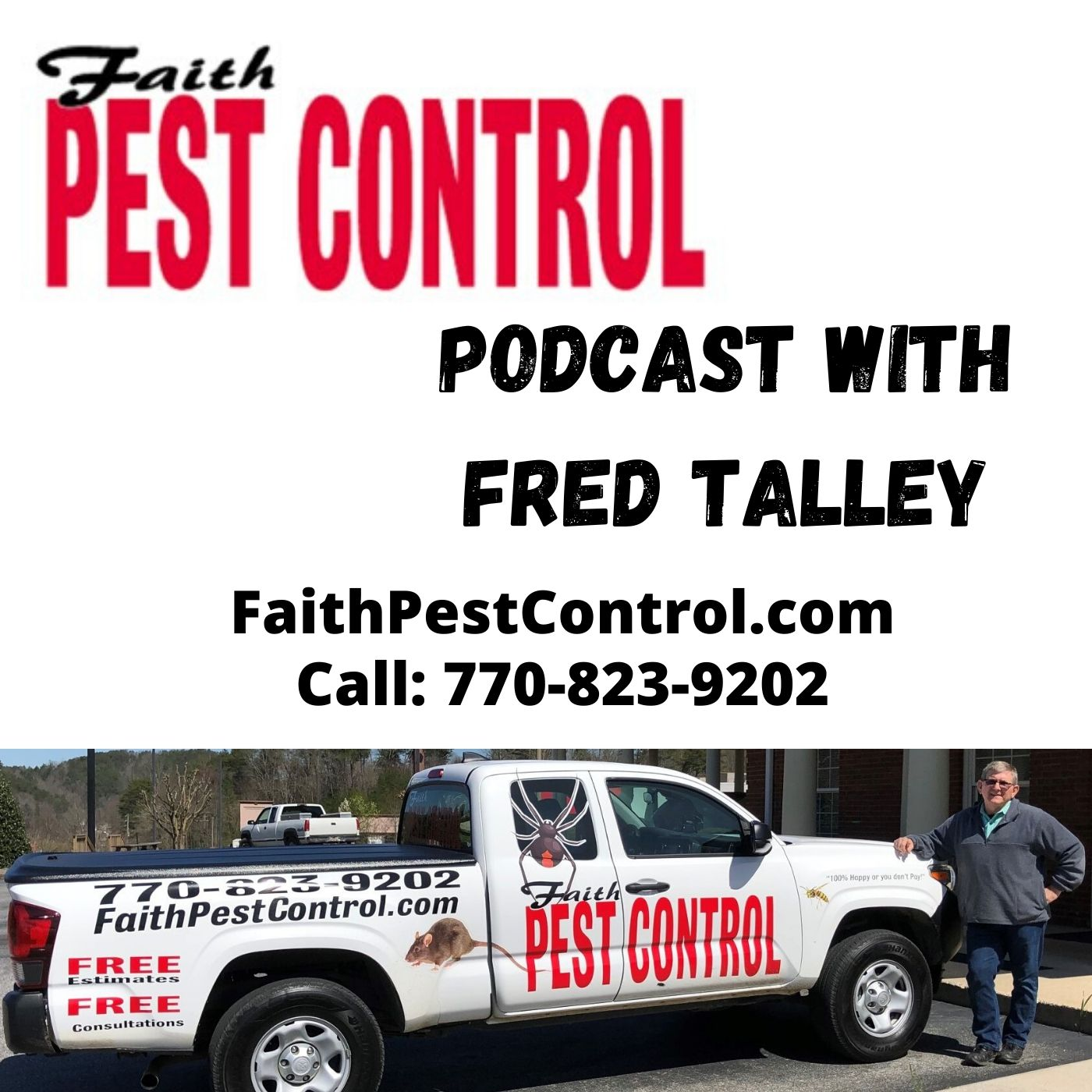 Faith Pest Control North Georgia Podcast