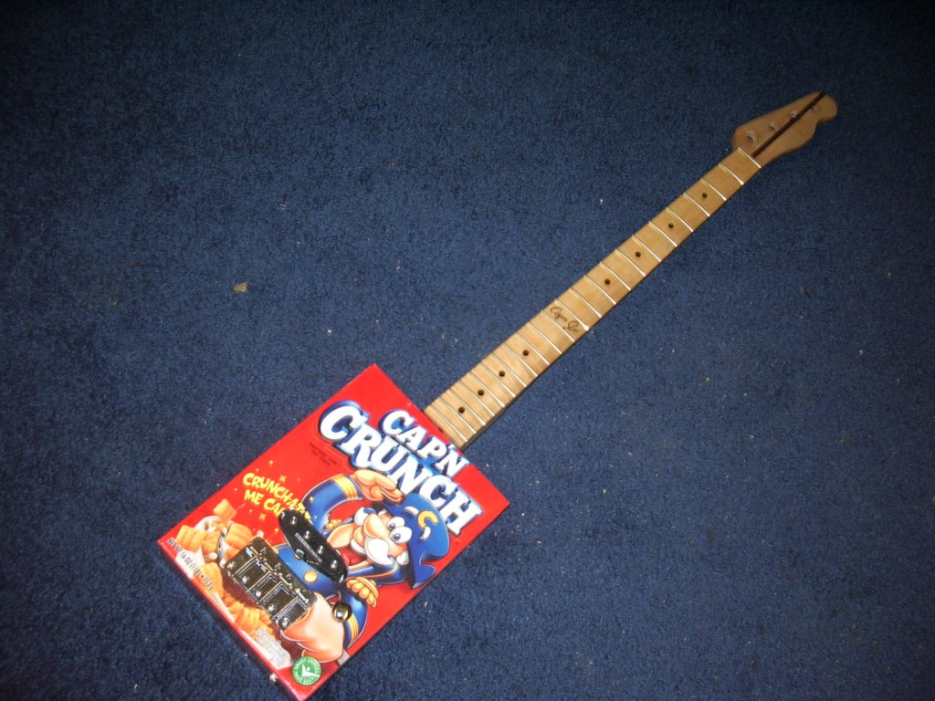 Cereal Box Bass - 2009