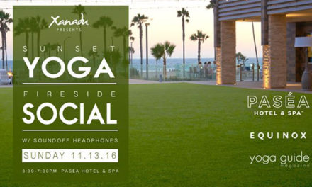 Sunset Yoga Event in Huntington Beach | 11.13.16