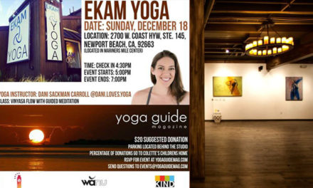 Vinyasa Yoga & Meditation POP-UP event at EKAM Yoga
