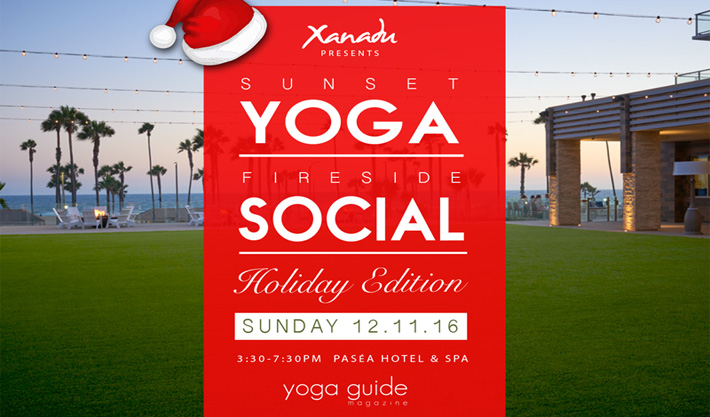 Yoga Social Sunday in Huntington Beach